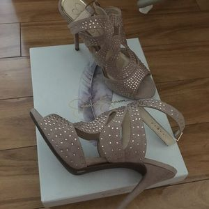 Jessica Simpson high heel shoes